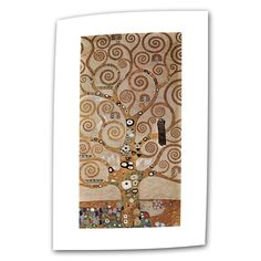 Tree of Life by Gustav Klimt Painting on Canvas