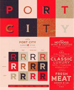 New Vintage Inspired Font - Port City