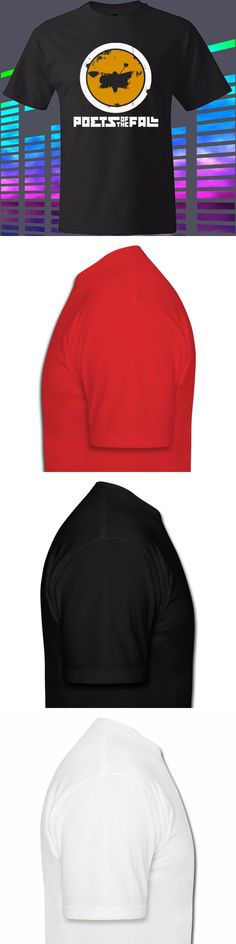 Gildan New Poets of The Fall Rock Band Logo Men's Black t-shirt Size S to 3XL men's t-shirt