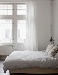 Apartment in Malmö | Photo via Swedish broker Bolaget | via Style and Create