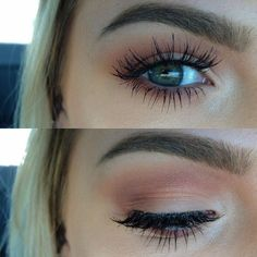 smokey mauve makeup