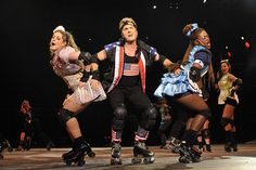 Vamers - Starlight Express South Africa - Carly Graeme (Pearl), Andrew Webster (Greaseball), Ziyan (1).