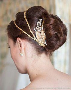What Would Khaleesi Wear? Gold Leaf Hair band - What Would Khaleesi Wear?