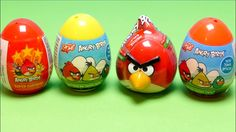 Angry Birds Special Surprise Eggs Collection