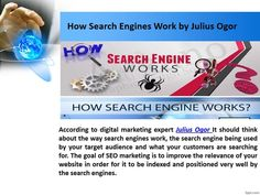 julius ogor say 90 percent of those using the Internet use search to find local businesses, according to the research of Google. People used Yellow Pages to find local businesses in the past, but they use the Internet today. julious ogor Or jay ogor social bookmarking help you to create proper link building. For more updates click here… http://juliusjayogor.blogspot.in/