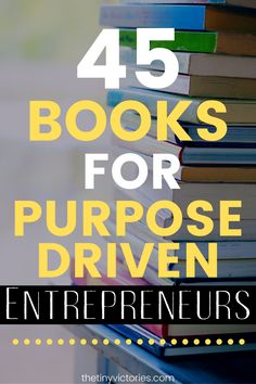Entrepreneurship is an amazing journey! If you're ready to be your own boss and live a life on your own terms, check out this booklist I've created just for entrepreneurs. Entrepreneur Motivation, Business Motivation, Entrepreneur Quotes, Business Entrepreneur, Business Quotes, Business Marketing, Business Tips, Online Business, Business Women