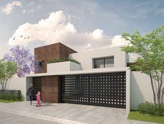 Fachada Casa Serena | Dionne Arquitectos