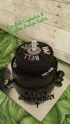 Barbell Cake Cakes Pinterest Cakes