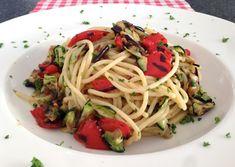 Spaghetti met heerlijke gegrilde groente | Het lekkerste recept vind je op AllesOverItaliaansEten