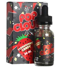 Pop Clouds E-Liquids - Strawberry Candy Vape Juice - Vapor Widgets Pop Clouds, Cheap Vape Mods, Liquid Vapor, Vape Accessories, Vape Smoke, Juice Flavors, Hacks, Vape Juice, Electronic Cigarette