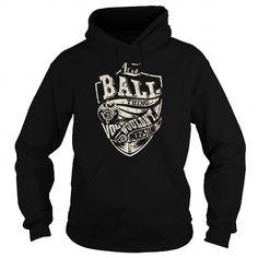I Love BALL Last Name, Surname Tshirt Shirts & Tees