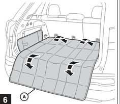 Jeep Cherokee Cargo Management System - Cargo Area Liner