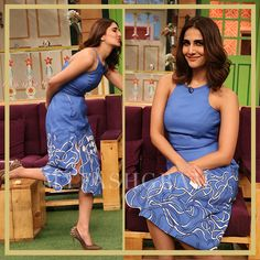 Vaani Kapoor, The Kapil Sharma Show, Befikre Promotions, MyFashgram