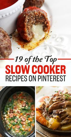 19 Of The Top Slow Cooker Recipes On Pinterest