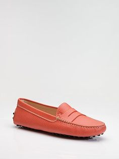 Own a pair of Tod's Driver Mocs - almost $500 but one of the best and most classic shoes on earth :)
