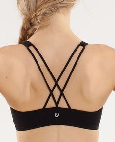 Lululemon free to be bra - black