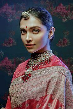 """Deepika Padukone for Sabyasachi x Nilaya Collection "" Deepika Padukone Saree, Deepika Ranveer, Bollywood Celebrities, Bollywood Fashion, Bollywood Actress, Dipika Padukone, Bollywood Wedding, Bollywood Cinema, Bridal Photoshoot"