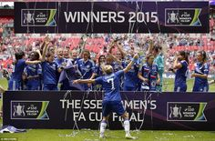 Chelsea 1-0 Notts County: Ji So-Yun nets winner at Wembley as Blues claim their first Women's FA Cup in front of record crowd...