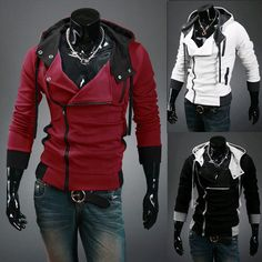Assassins Creed Hoodie Mens Long Sleeve Sweatshirts – eDealRetail