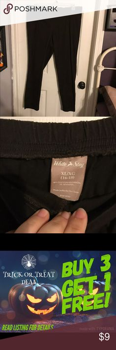 Dark brown slacks Stretch waist band slacks. Barely worn. White stag. Shipping cost is for this item only and is subject to change if bundled with other items depending upon weight. Buy 3 Get 1 Free! See my latest listing for details. White Stag Pants Trousers