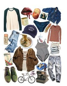 """the girl next door"" by jaaagz20 on Polyvore featuring art"