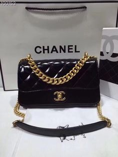 eed15ea335c Yükle (236x315)Chanel Classic Handbag 24cmOriginal Chanel Classic Handbag  24cm Oil Wax Calfskin Leather Black With Go.