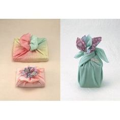 Japanese style l Gift wrapping with textiles Gift Wrapping Tutorial, Gift Wrapping Bows, Present Wrapping, Furoshiki Wrapping, Japanese Wrapping, Japanese Fabric, Japanese Style, Pretty Packaging, Paper Gifts