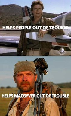 Les Stroud is the dude. AND a damn DILF.