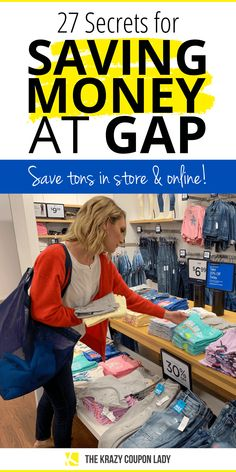 Gap shopping in store and online can be cheaper than shopping at Walmart. If I were to compare Gap to a grocery store, ('cause on KCL, that's how we do! Shopping Sites, Shopping Hacks, Online Shopping, Saving Tips, Saving Money, Gap Shop, Store Hacks, Best Savings, Online Coupons