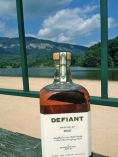 If you're not a soup-and-coffee kind of person...Defiant Whisky is a must-have for fall and winter.