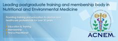 ACNEM | Australasian College of Nutritional and Environmental Medicine
