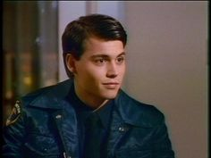 Johnny Depp - 21 Jumpstreet <3   look at that hair, what a cutie! :)