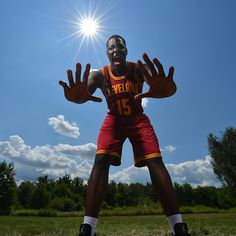 Anthony Bennett of the Cleveland Cavaliers poses for a portrait during the 2013 NBA Rookie Photo Shoot on August 6, 2013 at the MSG Training Facility in Tarrytown, New York. (Photo by Jesse D. Garrabrant/NBAE via Getty Images)