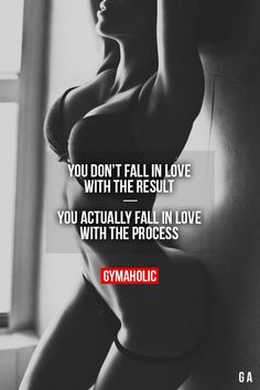 Fall in love with the process