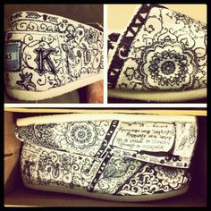 What Perfect Masterpiece Hand drawn Toms