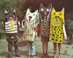 histoire(s) de jouer: Carnaval avec les sacs en papier du boulanger Paper Crafts For Kids, Projects For Kids, Diy For Kids, Art Projects, Arts And Crafts, Childrens Workshop, Magazines For Kids, Arte Popular, Animal Heads
