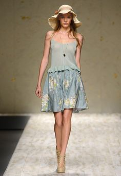 Blugirl Spring Summer 2013 Fashion Show Collection #mfw