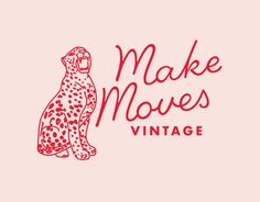 Make Moves Cheetah Logo by Little Trailer Studio