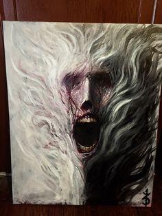 "Jinn, Zack Dunn, oil on canvas, 20""x30"""