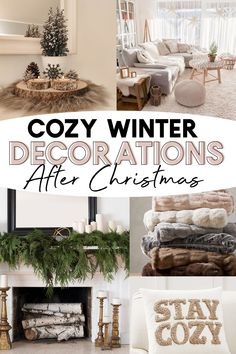 Winter Home Decor, Winter Decorations, Seasonal Decor, Winter House, After Christmas, Christmas Home, Simple Christmas, Christmas Nails, Xmas