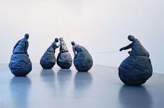 Conversation Piece by Juan Munoz