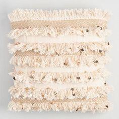 $35 - 18x18 Moroccan Style Wedding Blanket Throw Pillow - v1