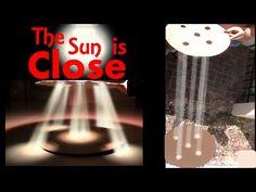 CREPUSCULAR SUN RAYS PROVE FLAT EARTH - YouTube