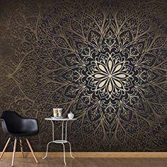 murando - Vlies Fototapete 500x280 cm - Vlies Tapete - Moderne Wanddeko - Design Tapete - Ornament f-A-0491-x-b