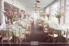 The Chatham Bars Inn - Gorgeous wedding venue right on the Atlantic Ocean in Chatham Cape Cod, MA.  A super classy and nautical space for the beach-loving couple!