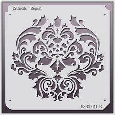 Damask stencil 93-00011 R