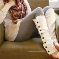 We have these amazing leg warmers! Every girl should have Grace and Lace as one of there favorite online shopping places:)The Miss Molly offwhite Slouchy button leg warmers by Grace and Lace Grace And Lace, Look Fashion, Diy Fashion, Ideias Fashion, Fashion Models, Fashion Hair, Teen Fashion, Fashion Shoes, Fashion Beauty