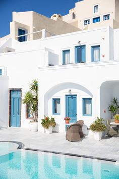 Ah! Take me to Santorini.