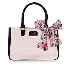 Mickey and Minnie Mouse Blossom Tote Bag - Disney Boutique | Disney Store Mickey and Minnie are ready to go! Grab your daily essentials and hit the road with the perfect carry-all tote. The cherry blossom print with contrast back and faux leather trim makes a fashion forward statement for any Disney fan.