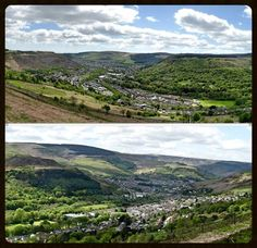 Rhondda Valley's . South Wales .. photographs by Wyndham Jones